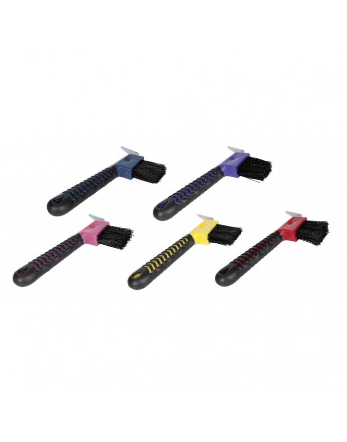 Cure-pied brosse avec poignée antidérapante 6488