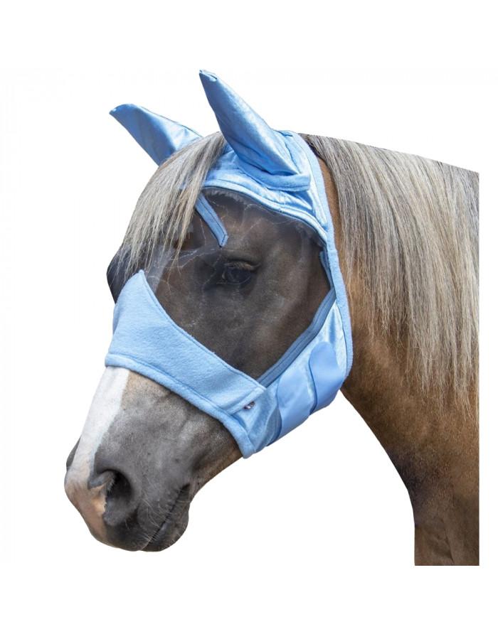 Masque anti-mouches -High Professional- HKM 11353.6400 bleu ciel