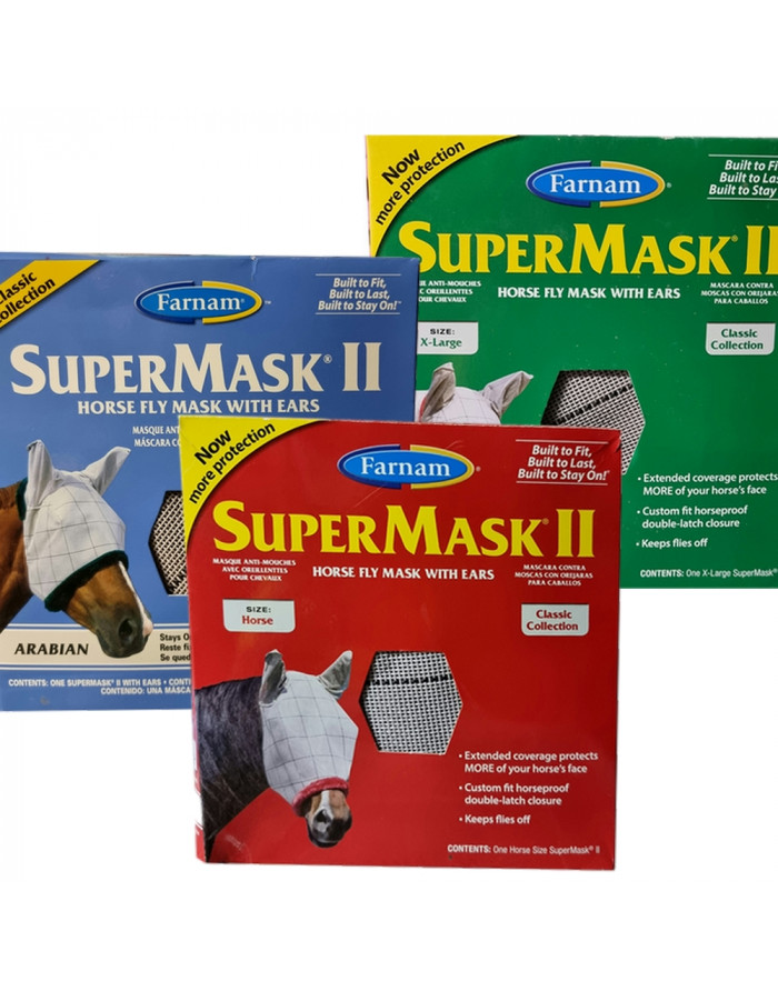 Masque anti-mouche anti-UV SUPERMASK II