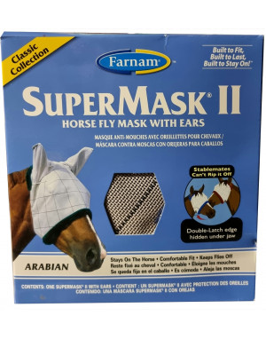 Masque anti-mouche anti-UV SUPERMASK II ARABE