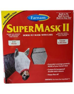 Masque anti-mouche anti-UV SUPERMASK II CHEVAL